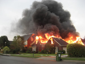 reason 3 for an alarm system - fire safety